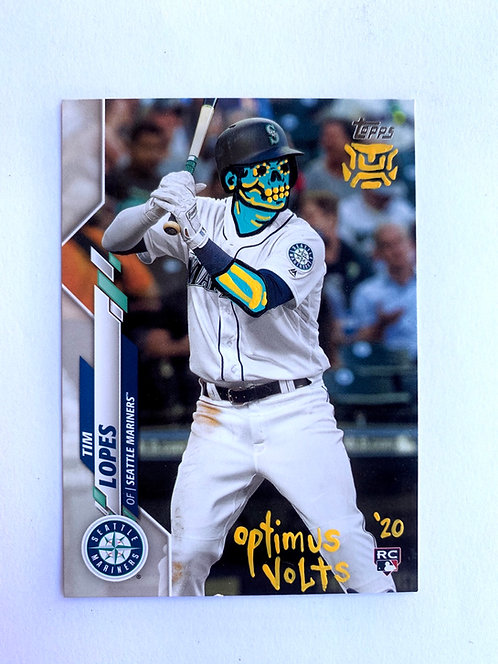 Tim Lopes Topps 2020 RC Seattle mariners