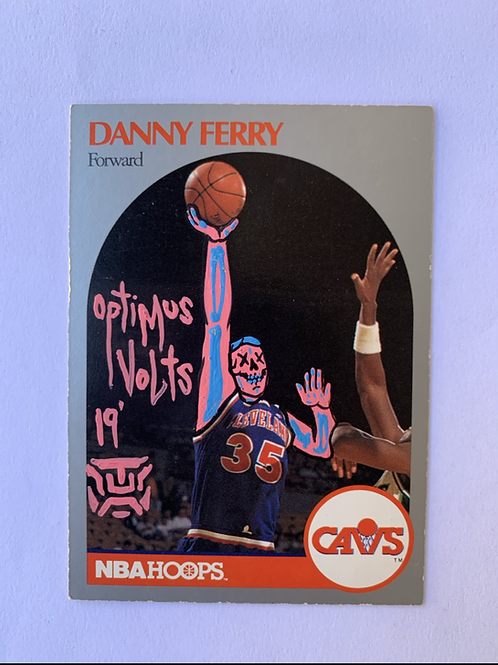 Danny ferry NBA hoops 1990 the Cleveland Cavaliers