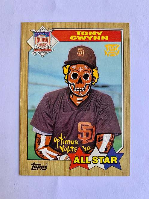 Tony Gwynn Topps 1987 San Diego padres