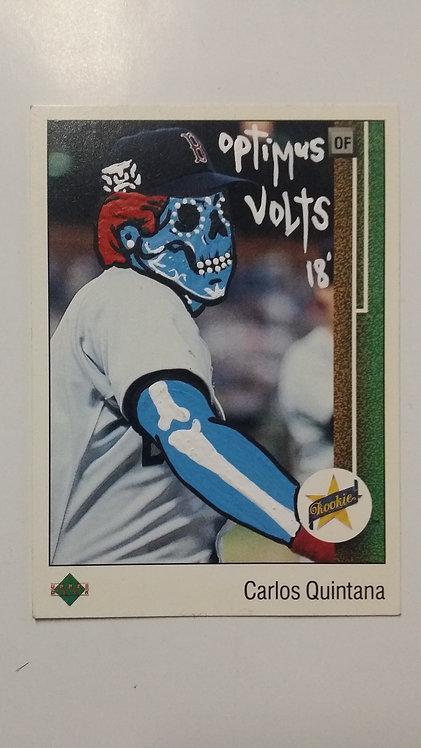 Carlos Quintana Upper deck 1989 Boston Red Sox