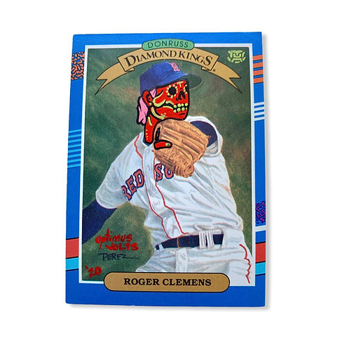 Roger Clemens Donruss 1990 Boston Red Sox