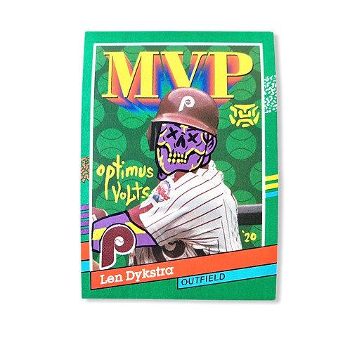 Lenny Dykstra Donruss 1990 leaf MVP Philadelphia Phillies