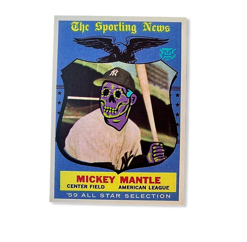 Mickey mantle Topps 1960 Reprint New York Yankees
