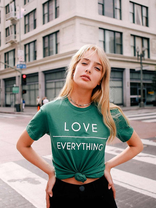 """Love Over Everything"" Tee"