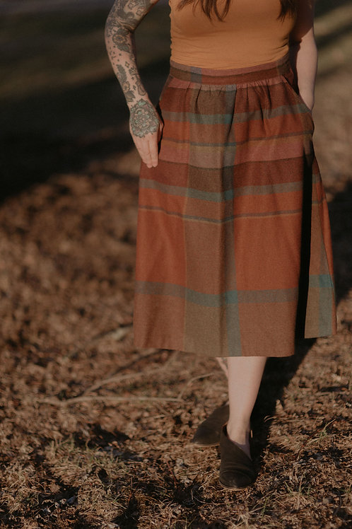 """""""One Fall Day"""" Vintage Skirt"""
