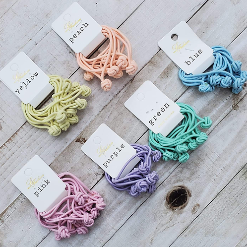 Rainbow Collection Knot Ties