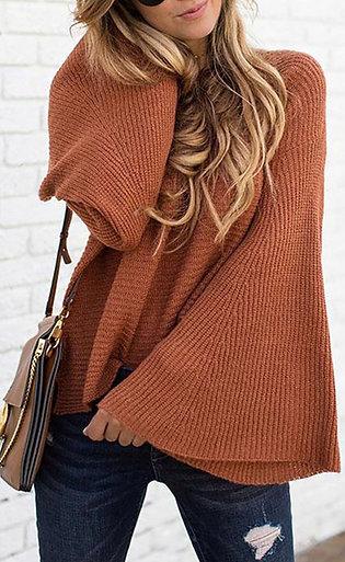 Pumpkin Bell Sweater