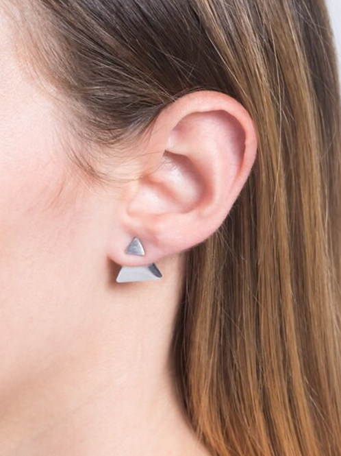 Triangle Illusion Studs