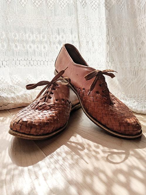 Vintage Basket Weave Shoe