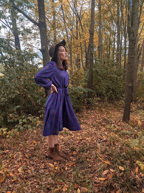 Pretty in Purple Vintage Dress