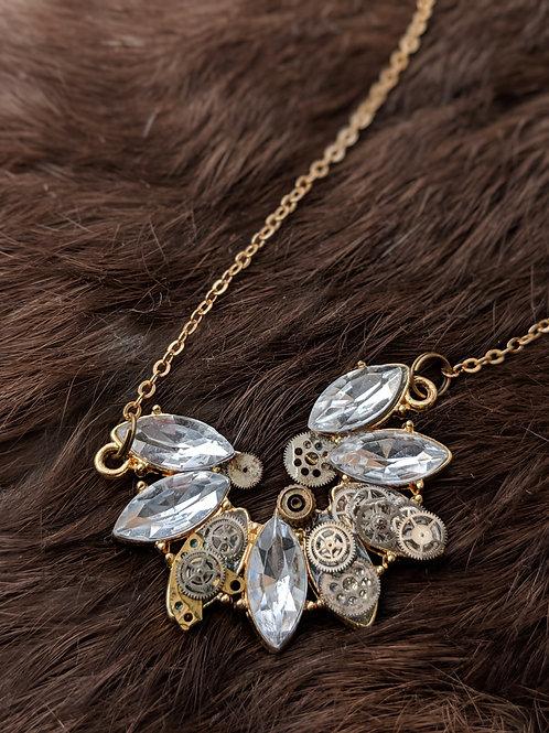 Dainty Gears Necklace