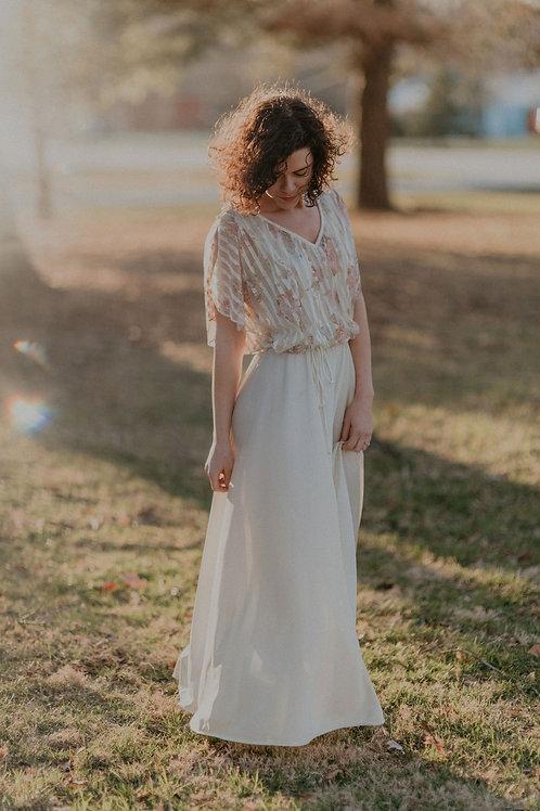 Prairie Fairie Vintage Gown