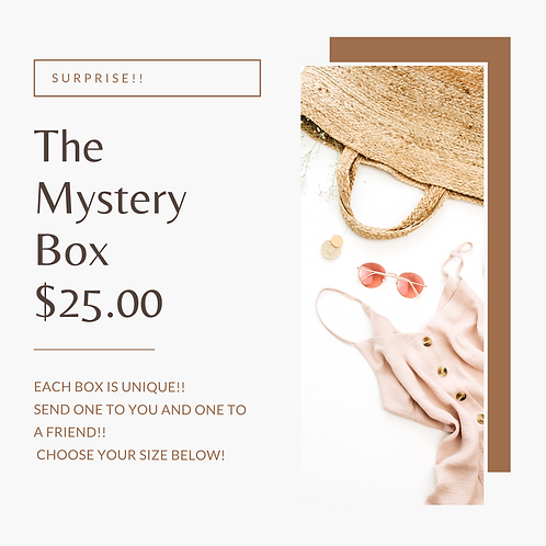 The Mystery Package! $25.00