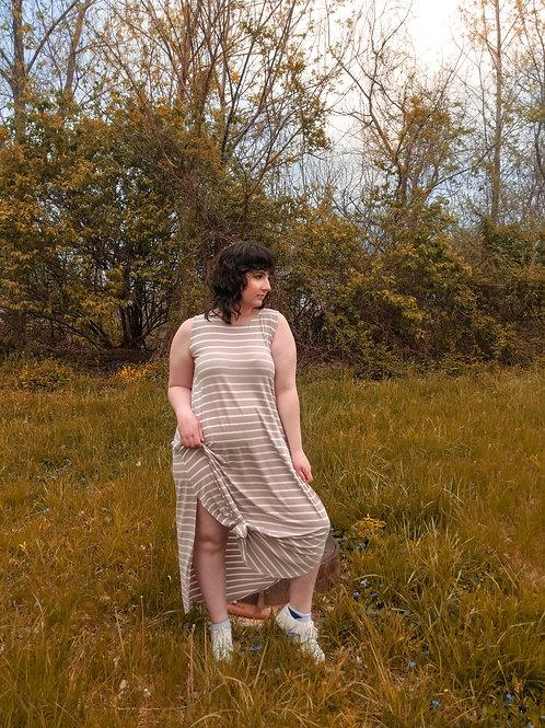 """""""Sun & Stripes"""" Maxi Dress"""