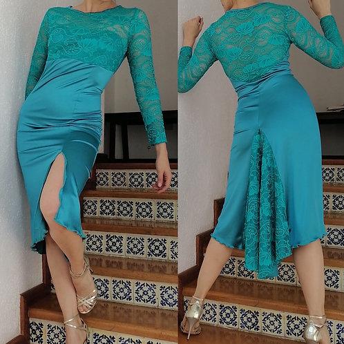 GALA TURQUESA DRESS