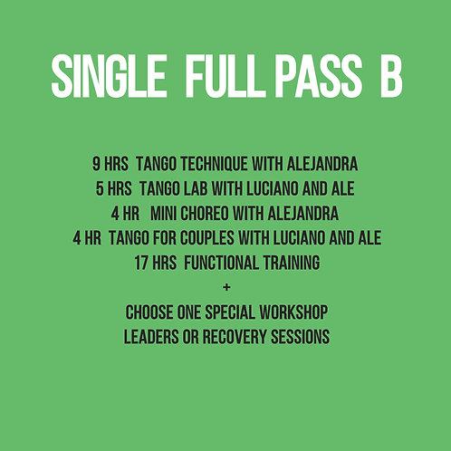 Full Pass Single B