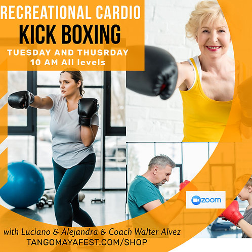 SINGLE MONTHLY CARDIO KICK BOXING