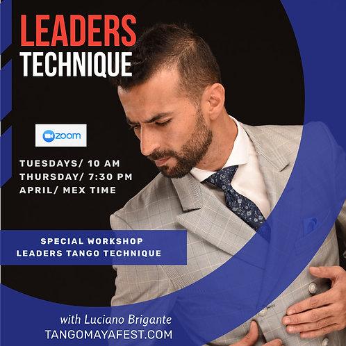 6hrs Leaders Technique Tuesday & Thursday