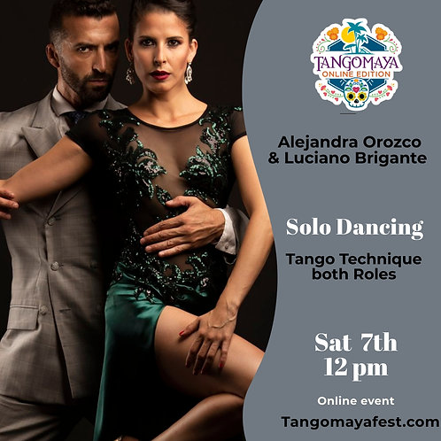 Solo Dancing Tango Technique