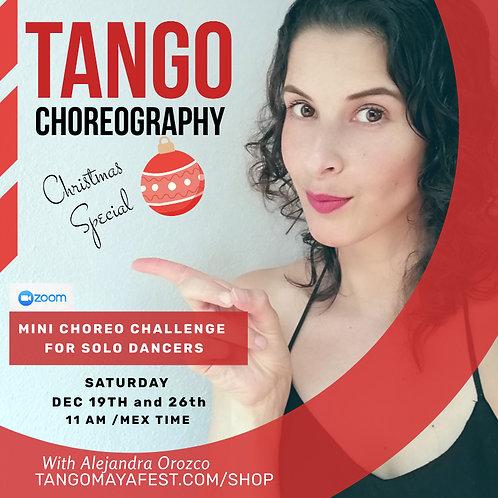 Christmas Mini Choreography Challenge