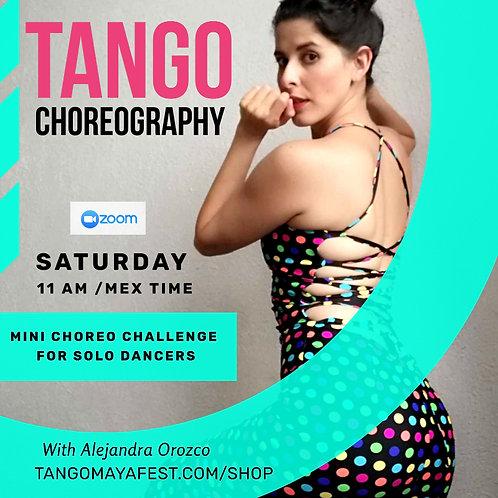 4hrs Mini Choreo Challenge