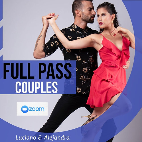 2 WEEKS Full Pass for couples