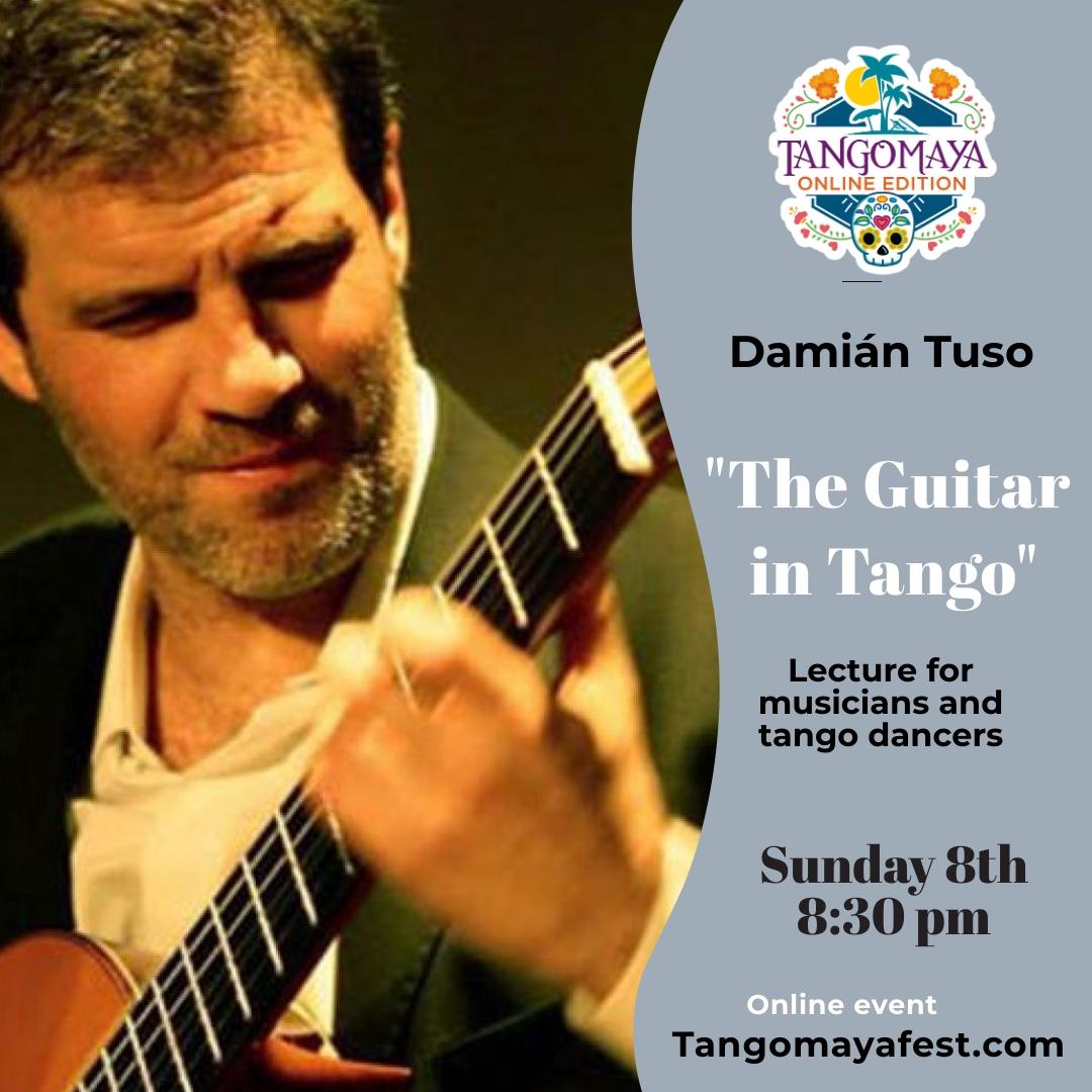 8:30 pm Guitar in Tango