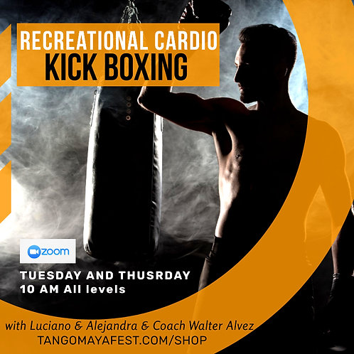 MONTHLY CARDIO KICK BOXING
