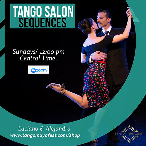 4hrs  Traditional Tango workshop for couples