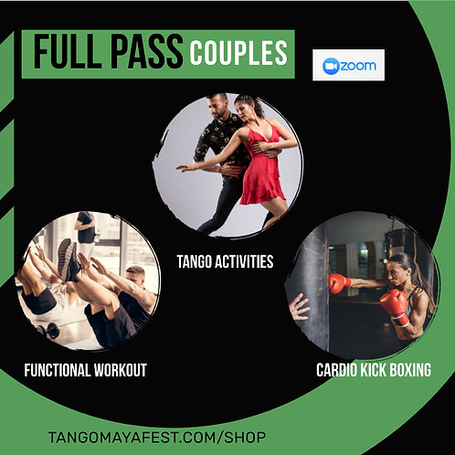 Full Pass for couples TANGO+ FUNCTIONAL+ CARDIO