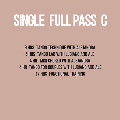 Full Pass for Single C