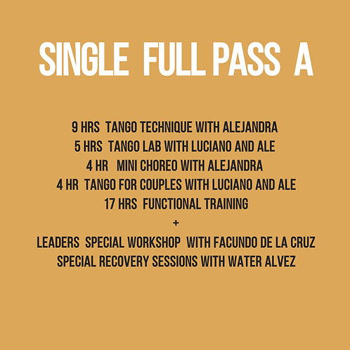 Full pass Single A