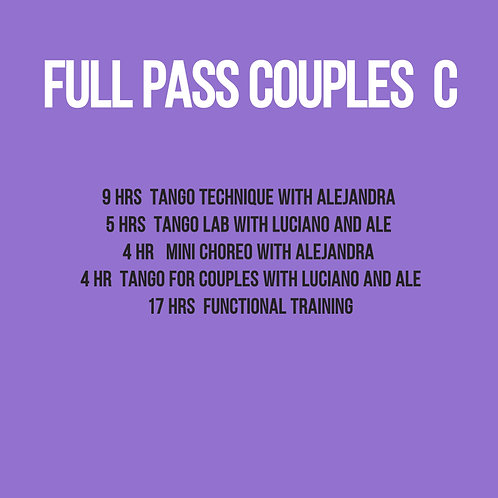 Full Pass for Couples C