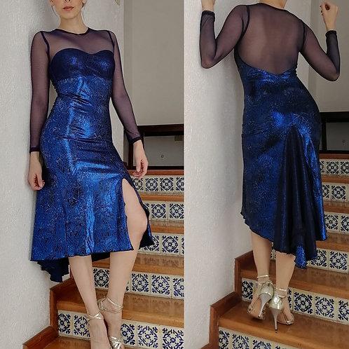 GALA AZUL DRESS