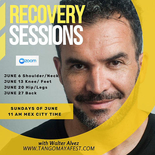 4 HRS RECOVERY WORKSHOPS/Walter Alvez