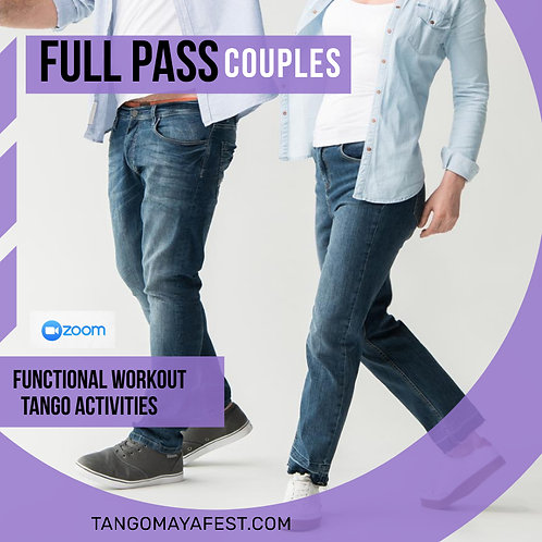 Full Pass for couples TANGO+ FUNCTIONAL