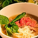 #1 Pho with Rare Steak