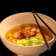 #6 BBQ Pork Egg Noodles