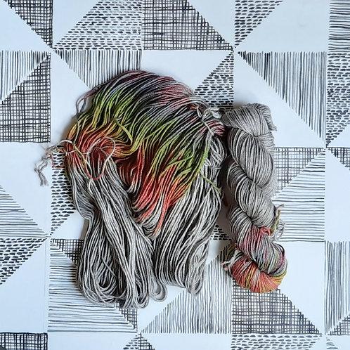 Rainbow Stripe (Silky Yak)