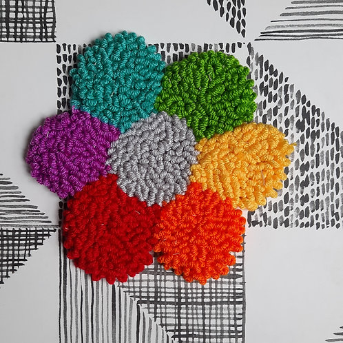 Medium Flower (rainbow)