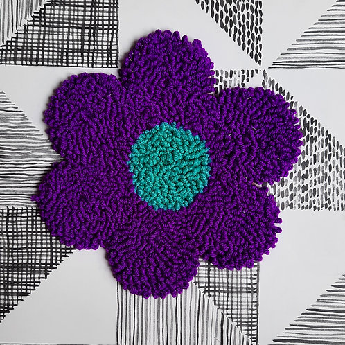 Large Flower (purple/blue)