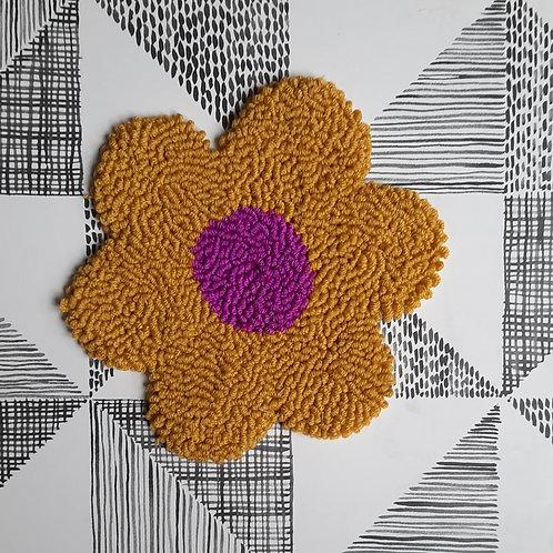 Large Flower (yellow/purple)