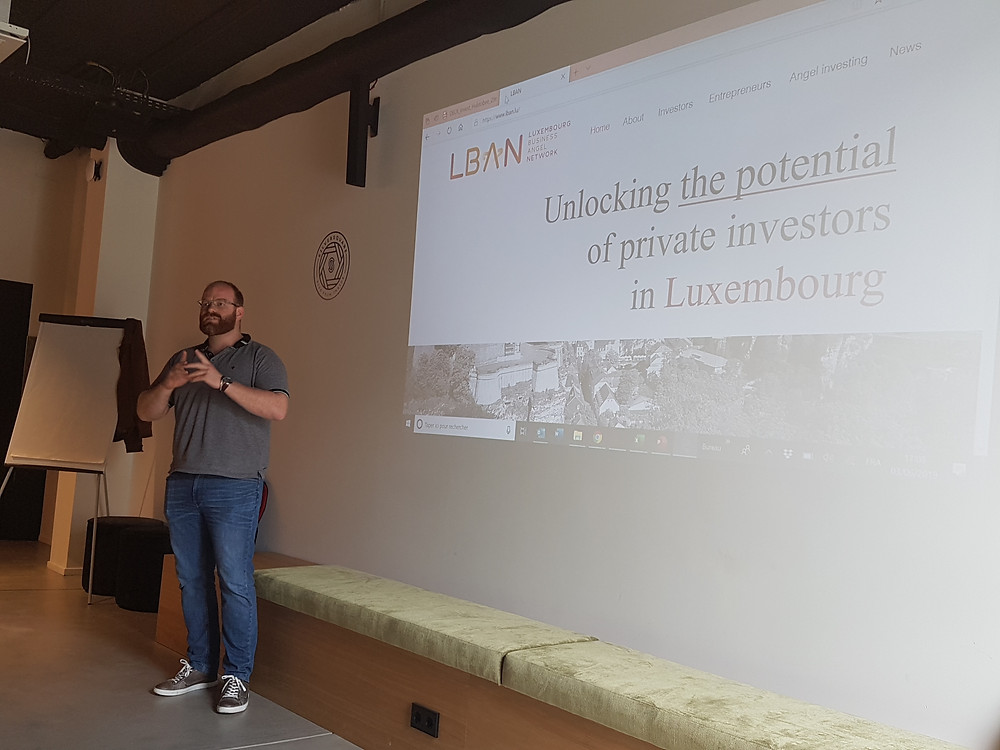 LBAN Manager Philip Grother at Pitching session