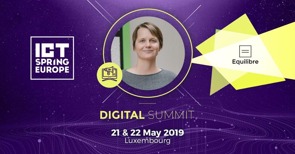 LBAN President Larissa Best at ICT Spring 2019