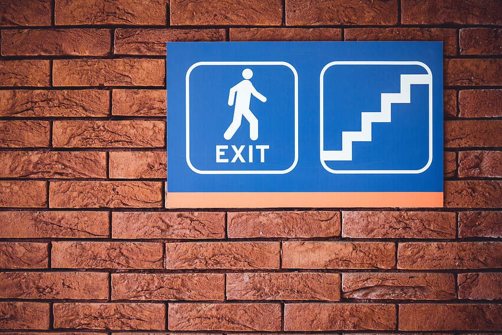 How much are your trademarks going to be worth when you exit?