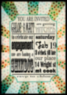 circus and carnival inspired invitation by laura walker