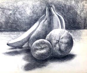 *Untitled Still Life 1-Fruit