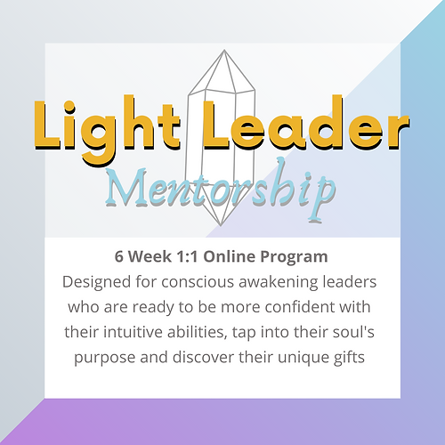I help leaders learn to trust their soul