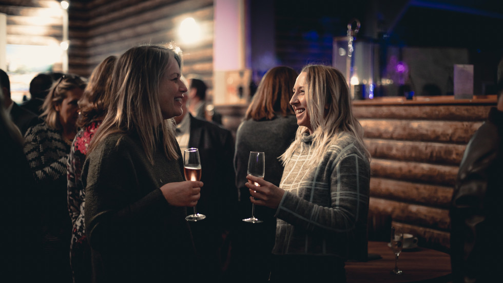 Launch Party in the Winery