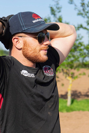 Taunton Titans Rugby Player Ben Oliphant-Thompson